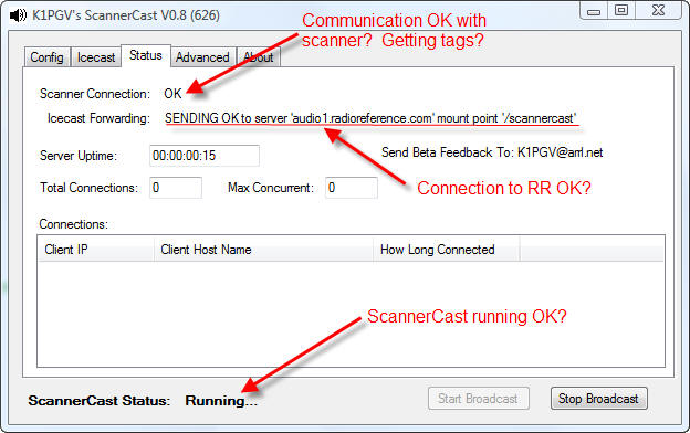 ScannerCast Configuration and Usage Guide